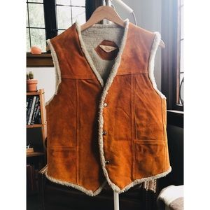 Vintage Super Mex Genuine Leather Vest